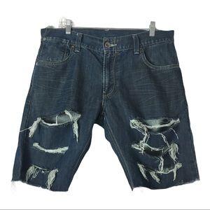 Levi's 514 Men's Cutoff Jeans Short Sz. 34